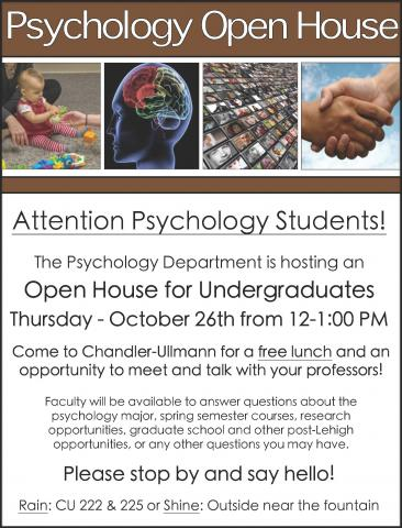 Psychology Open House