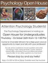Psychology Open House